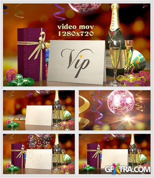 New Year footage HD - Holiday Greetings - Creative Video Footage For Winter Celebrates