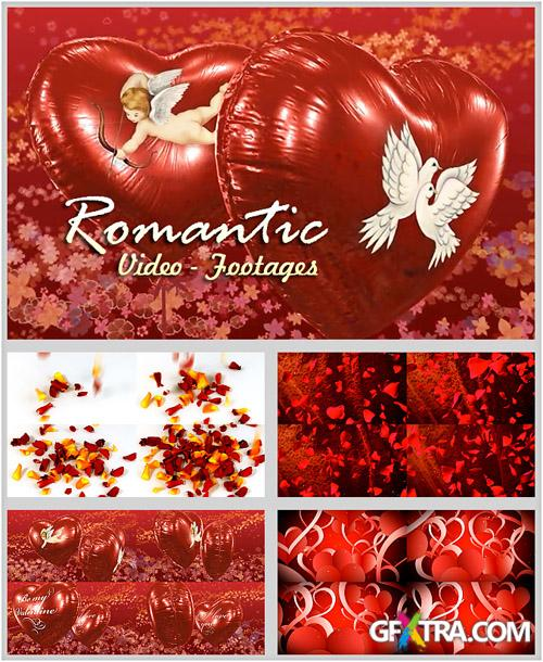 Footage HD - Romantic Backgrounds - Creative Video Footage For Lover Story