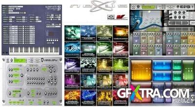 ReFX Products (Nexus 2, Vanguard, QuadraSID, Slayer2, PlastiCZ) Collection