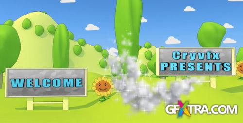 After Effects Project - Cartoon Park 3D Animation 129857