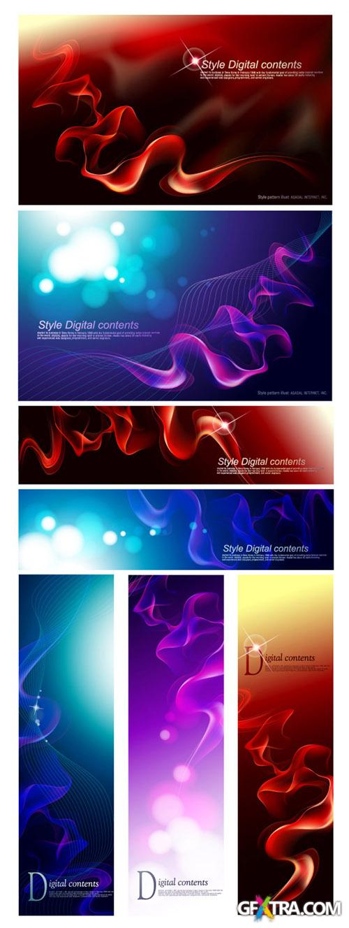 Digital Style Vector Backgrounds
