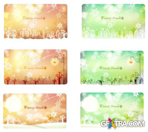 Vector Banners - Winter Dream