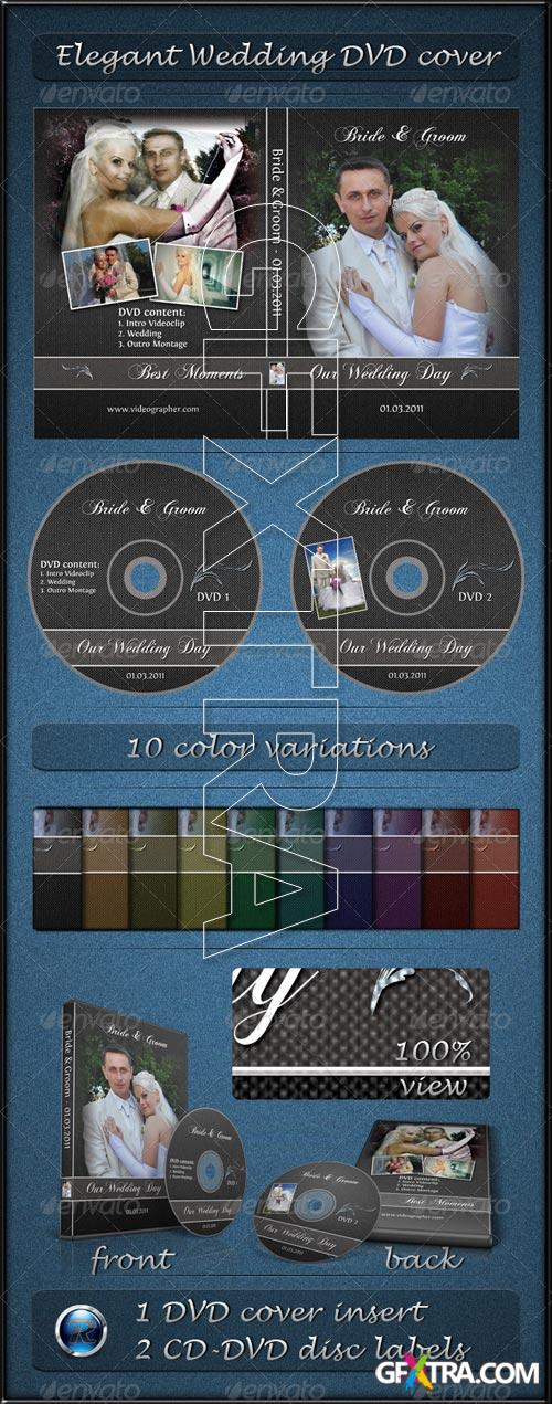 GraphicRiver - Elegant Wedding DVD Cover