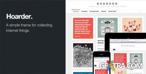 ThemeForest - Hoarder v1.0.1 - Responsive WordPress Blog Theme