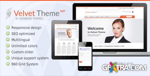 ThemeForest - Velvet v1.4.1 - Clean, Responsive WordPress Theme