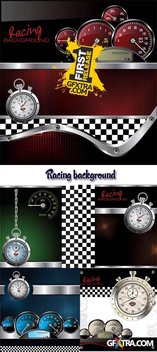 Stock: Racing background