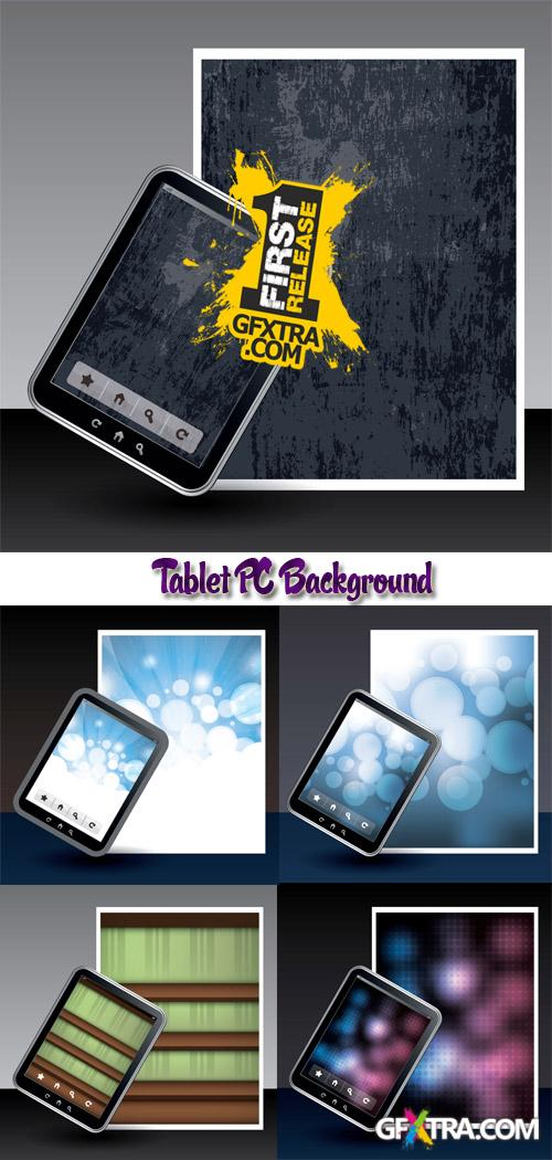 Stock: Tablet PC Background