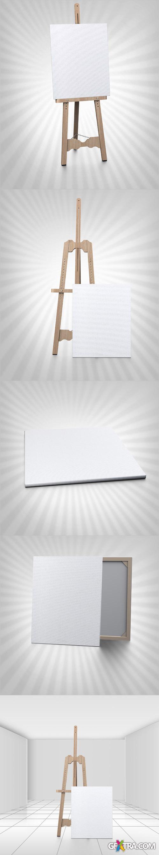 6 Paint Display Mockup Templates