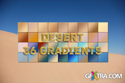 36 Desert Photoshop Gradients