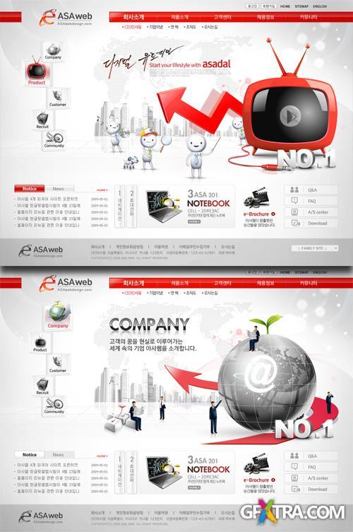 PSD Web Templates - Internet Technology 1