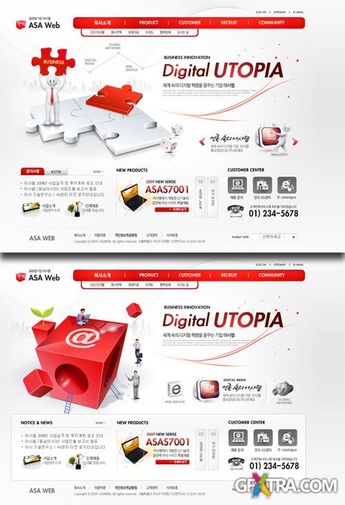 PSD Web Templates - Business Innovation 1