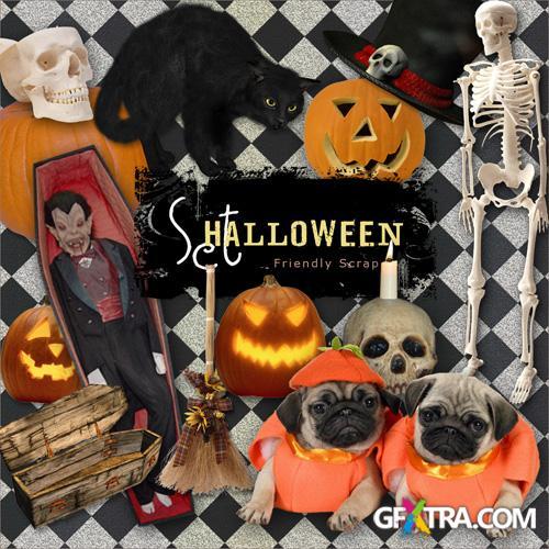 Scrap-kit - Halloween Set 2