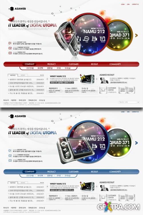 PSD Web Templates - Marketing Technology 4
