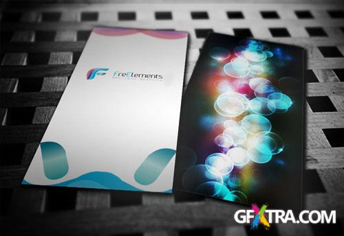 DL Flyer Mockup Two Sides PSD Template