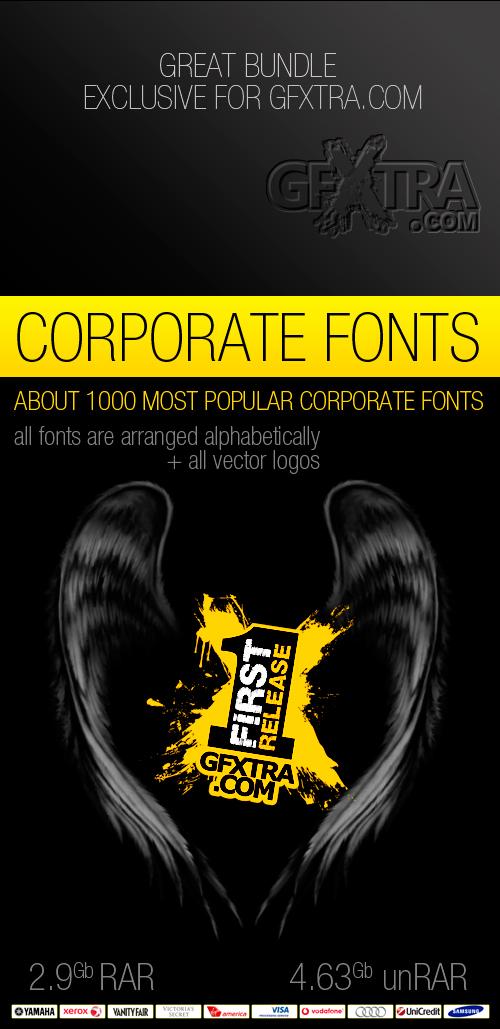 Corporate Fonts - Great Bundle!