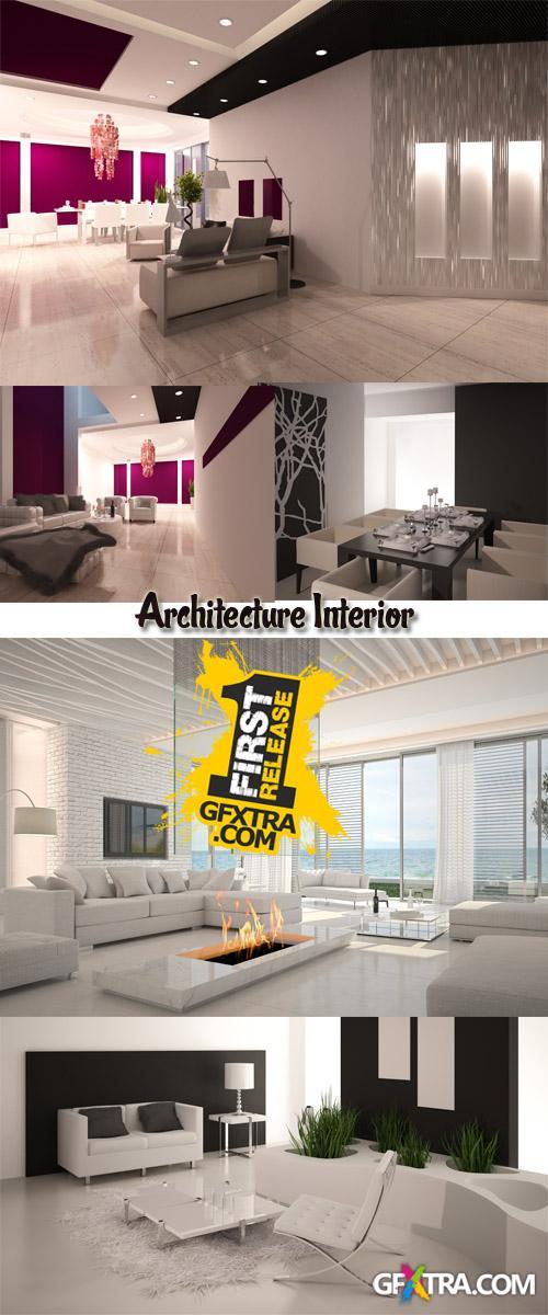 Stock Photo: Architecture Interior