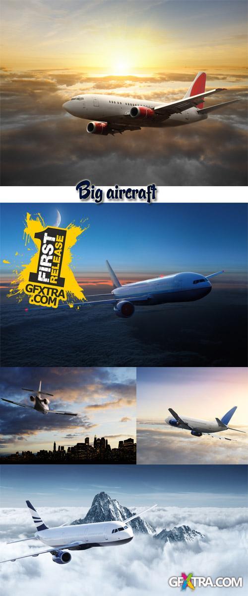 Stock Photo: Big aircraft