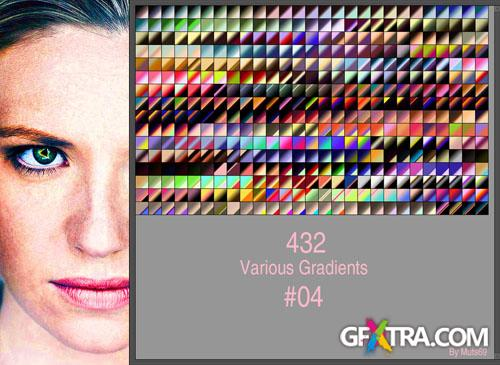 Various Photoshop Gradients #4