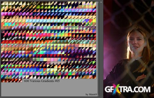 Various Photoshop Gradients #5