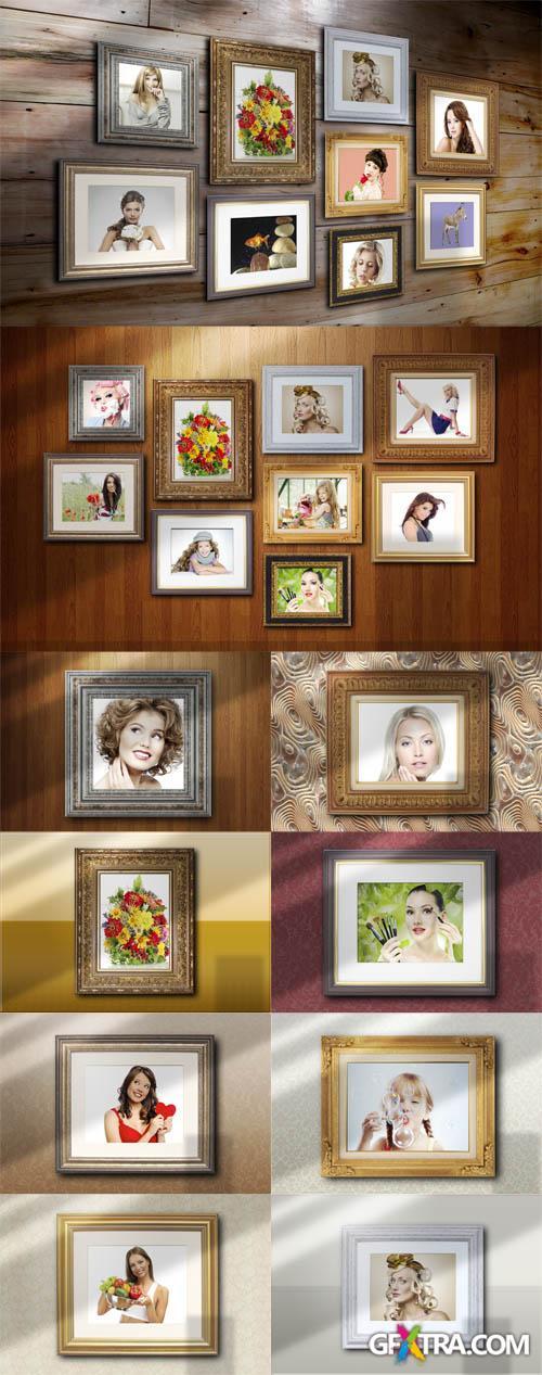 Photo Frames Mock-ups