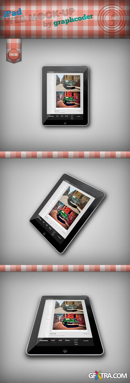 iPad Mock-up PSD Template