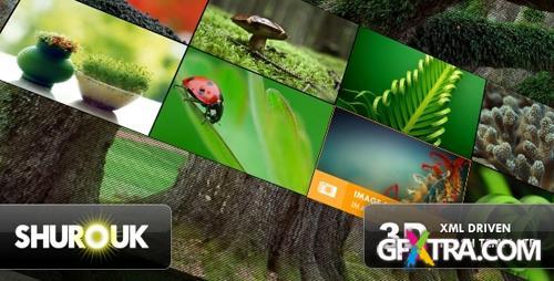 ActiveDen - 3D Flash Template - Shurouk - Rip