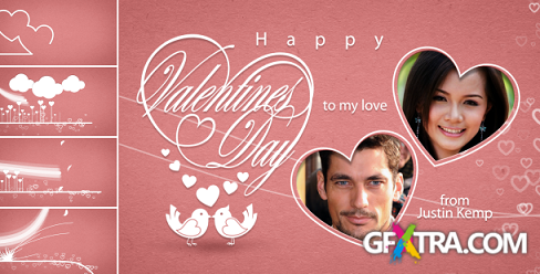 Classic Valentines E-Card - Project for After Effects (Videohive)