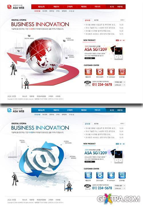 PSD Web Templates - Business Innovation 3