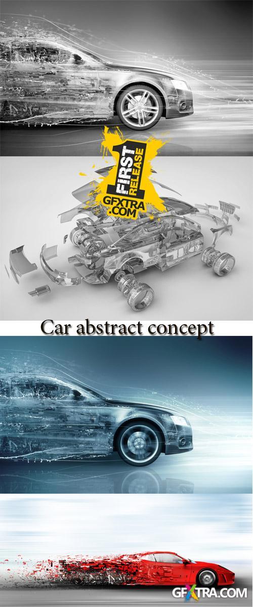 Stock Photo: Car abstract concept