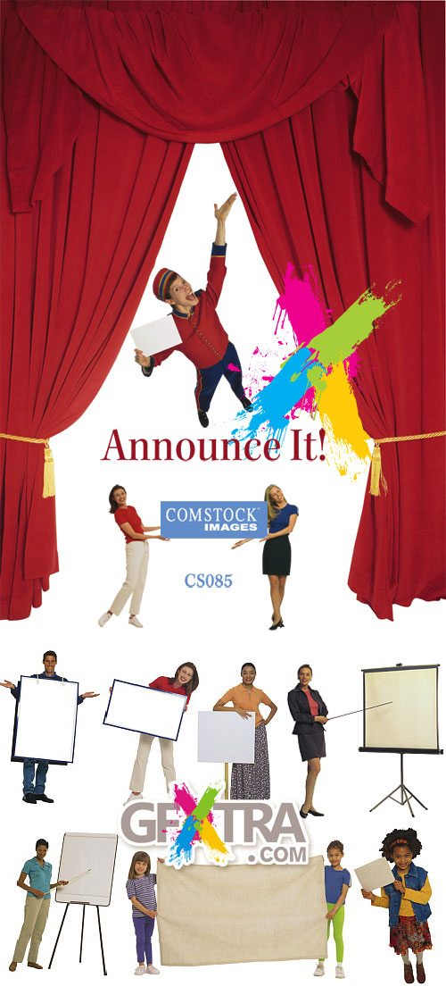 Comstock CS085 Announce It!