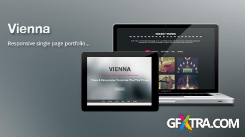 MojoThemes - Vienna - Responsive One Page Template