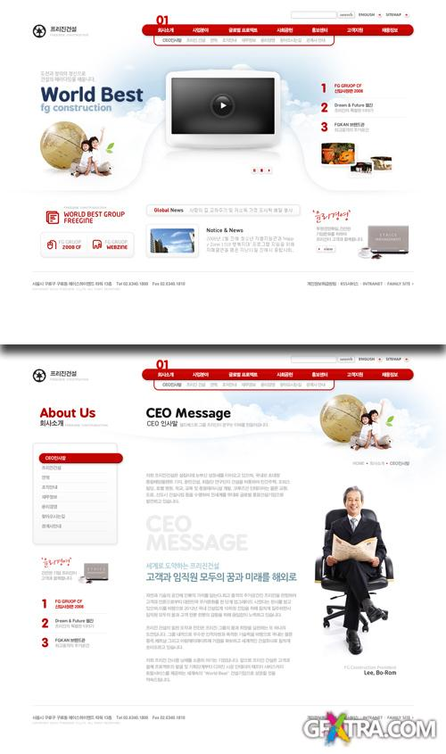 PSD Web Templates - Business And Technology