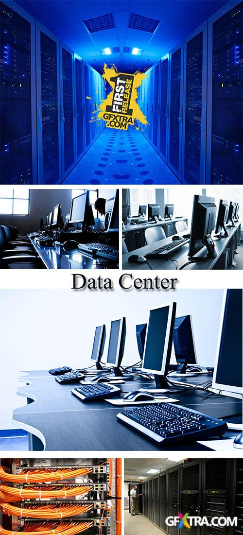 Stock Photo: Data Center