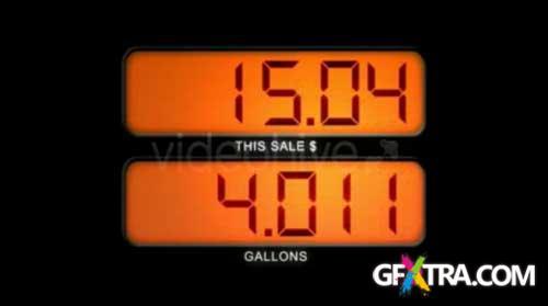 Gas Pump Display - VideoHive - RETAiL