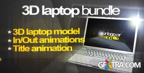3D Laptop animation bundle - VideoHive - RETAiL