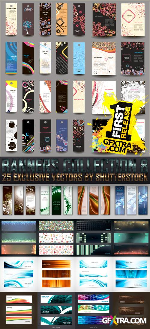 Amazing SS - Banners Collection 8, 25xEPS