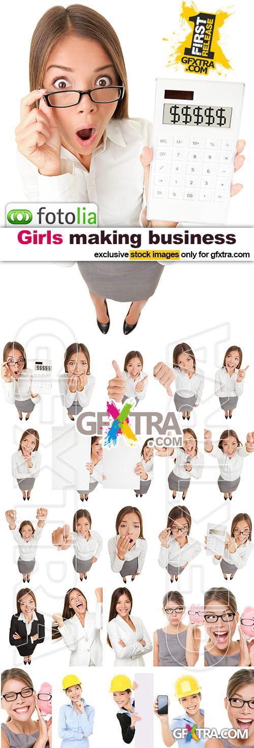 Girls Making Business - 25x JPGs