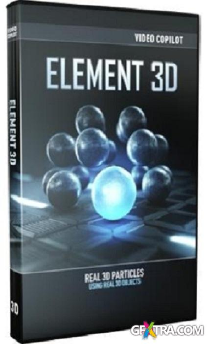 Video Copilot Element 3D v.1.5.409 With Plugins (2013)