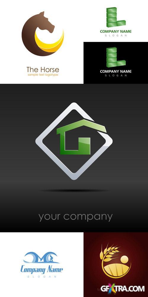Logo Elements Vector Set #7