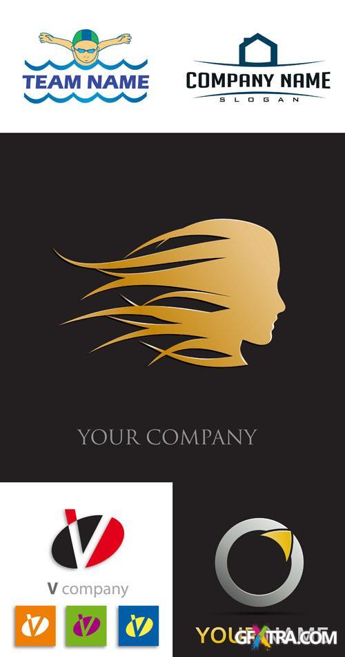 Logo Elements Vector Set #8