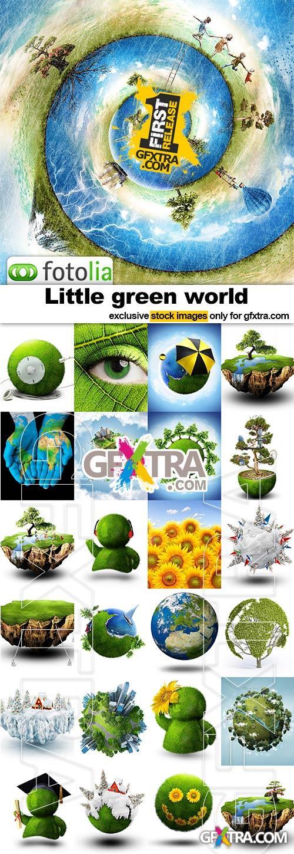 Little green world - 25x JPEGs