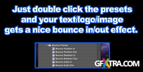 Bounce Presets - Presets for After Effects (Videohive)