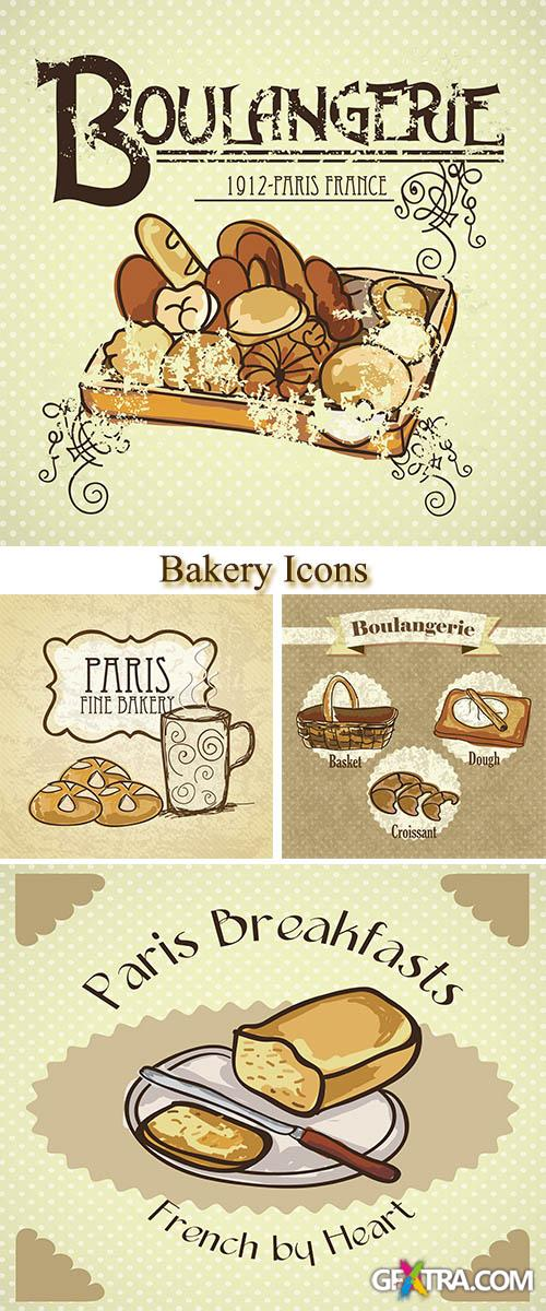 Stock: Bakery Icons