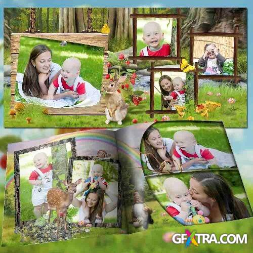 Photo book - in the woods come spring