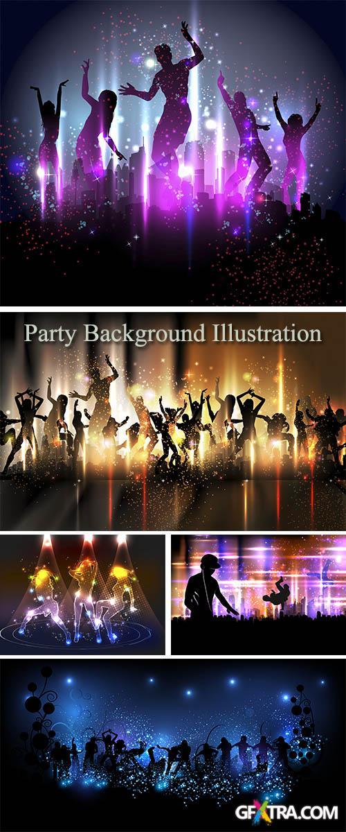 Stock: Party Background Illustration