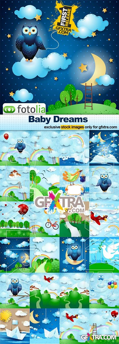 Baby Dreams - 25x EPS