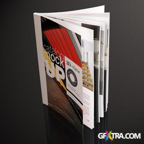 Pixeden - Psd Magazine Mockup Template Vol2