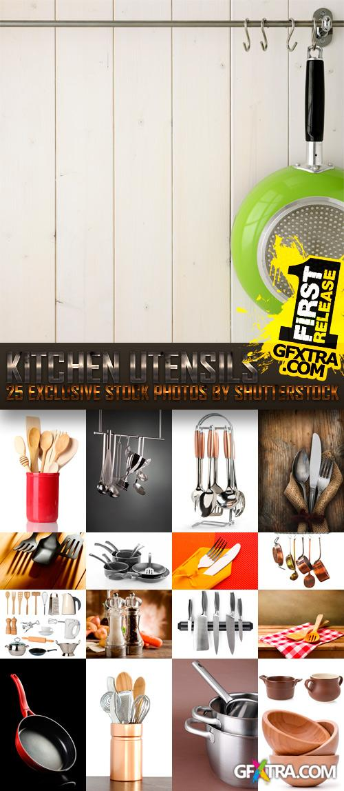 Amazing SS - Kitchen Utensils, 25xJPGs