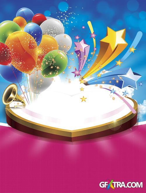 PSD Source - Love Birthday