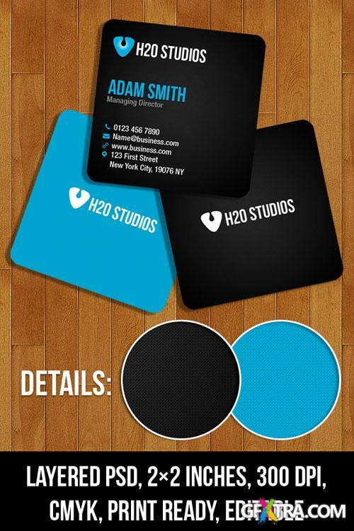 Mini Business Card